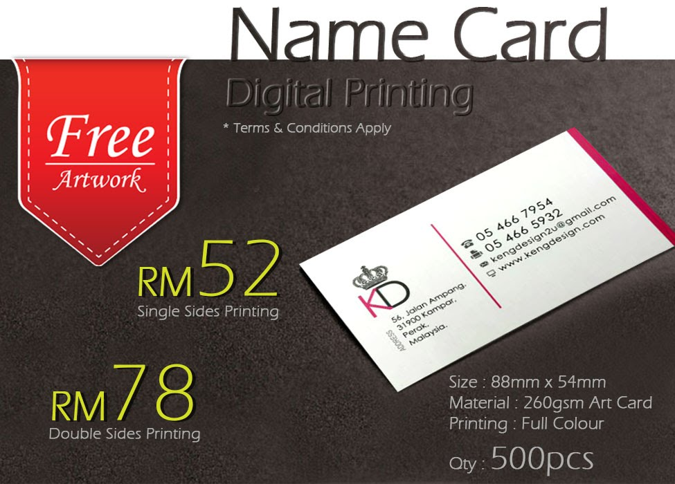 Enchanting business card promotion photo business card ideas business card printing kuching images card design and card template reheart Gallery